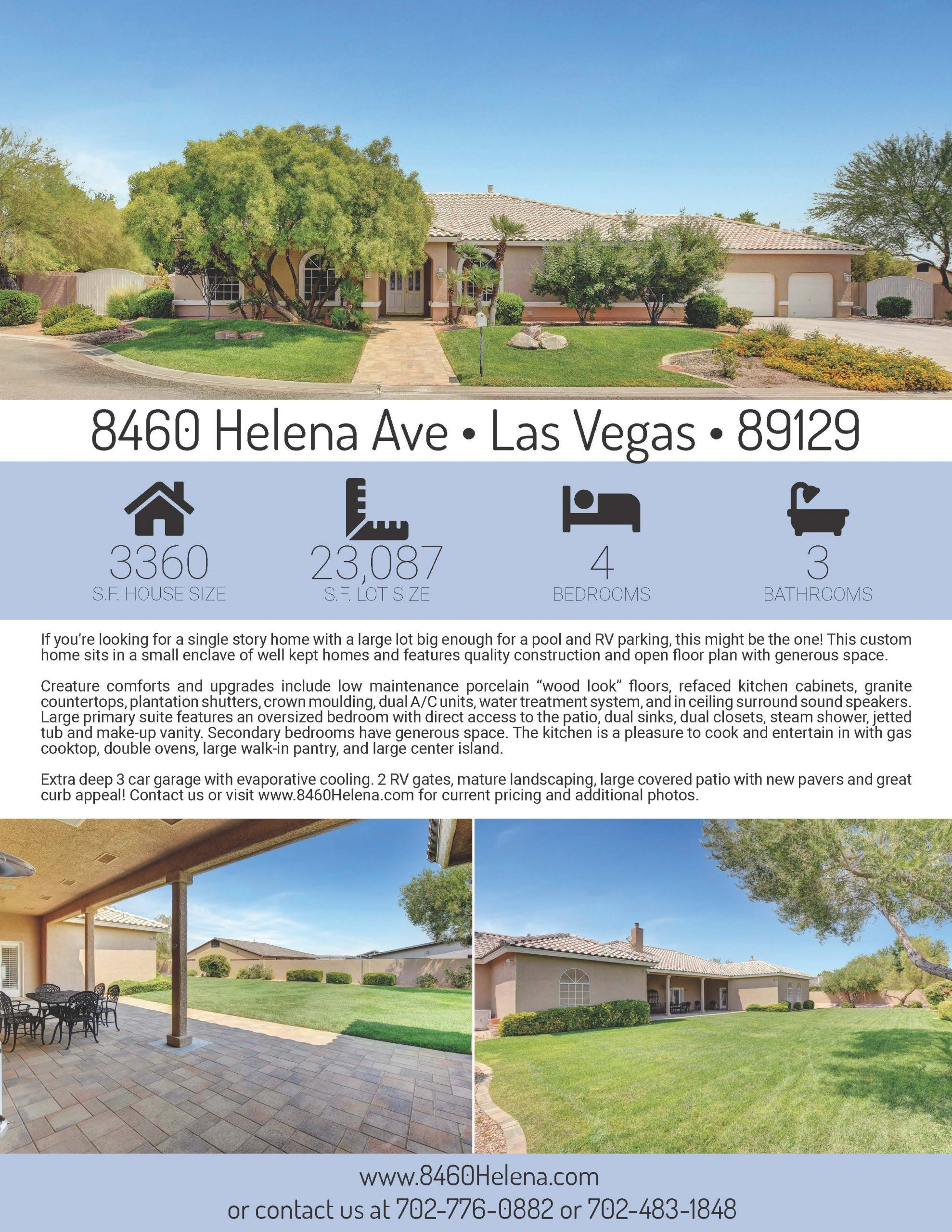 8460 Helena Flyer Page 1